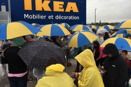 IKEA Opens in Quebec City