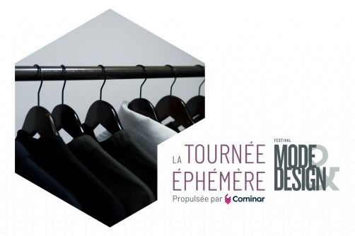 Unveiling of the 7 creators of the 2nd Tournée éphémère FMD