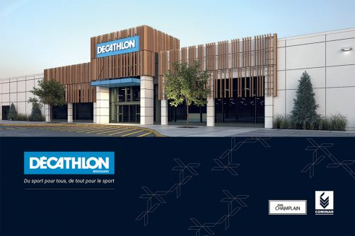 Decathlon Opens at Mail Champlain