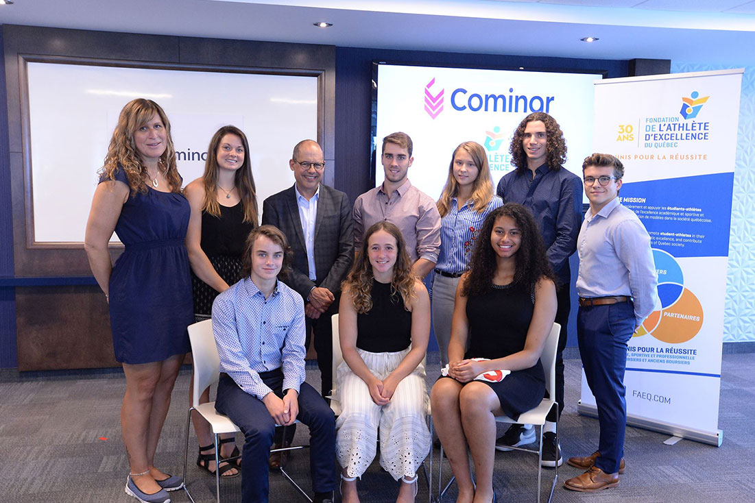 Cominar awards 40 000 $ as part of its Scholarship Program
