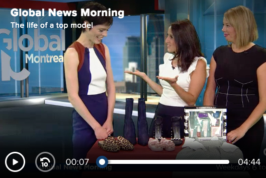 Coco Rocha (Rockland) à Global News