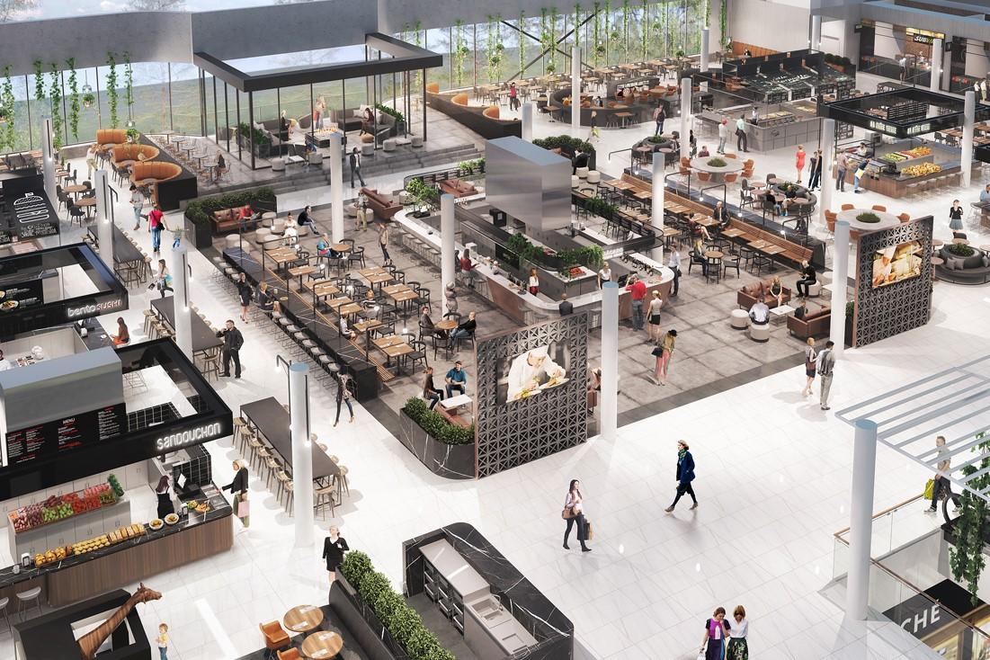 Cominar investit pour revitaliser l'aire de restauration de Rockland