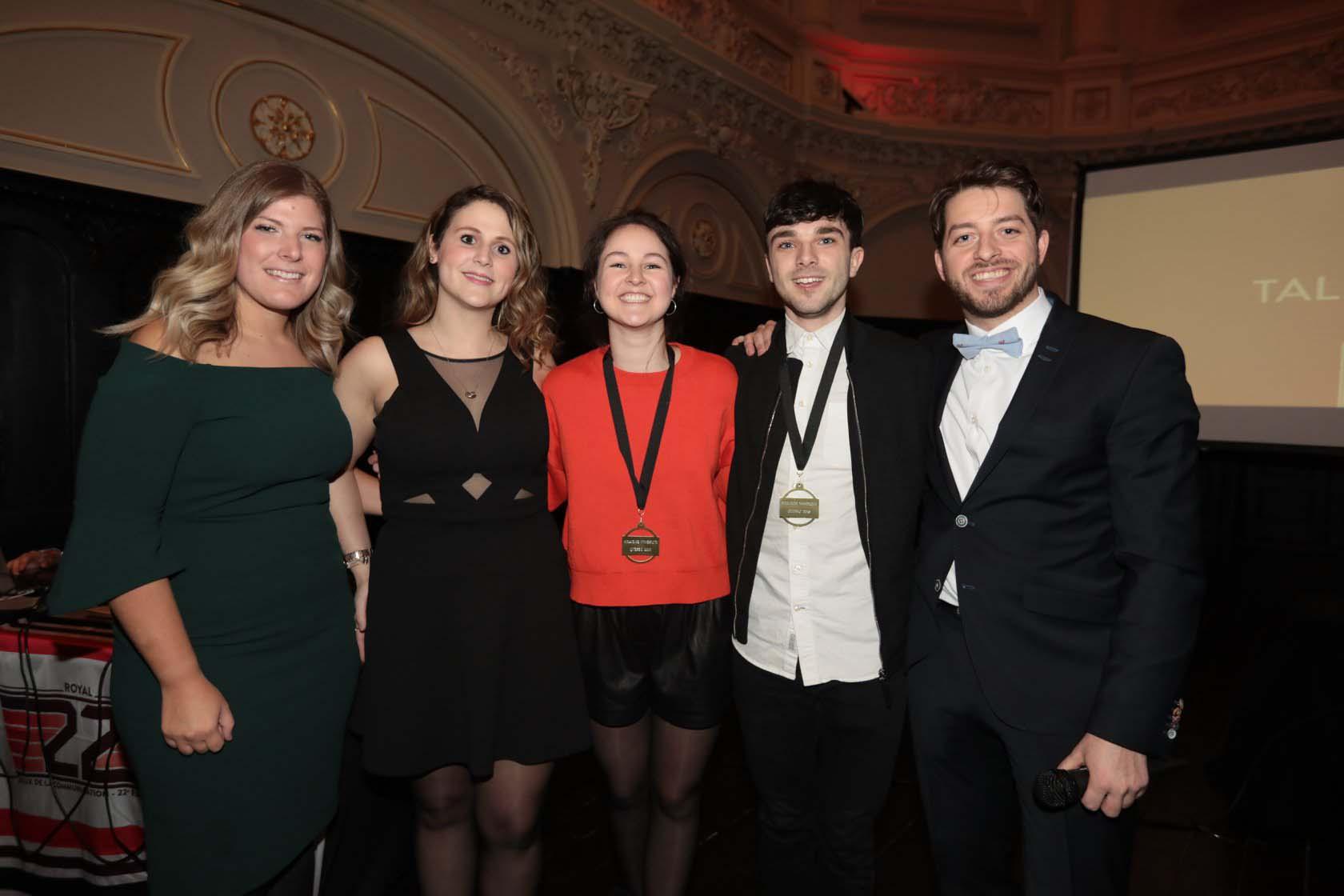 Cominar Partners the Jeux de la communication 2018